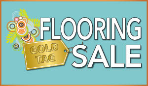$100 off your purchase of $999 or more!  $250 off your purchase of $1,999 or more!  Easy 12 month interest free financing during the National Gold Tag Flooring Sale at Bendele Abbey Flooring & Rug in Fort Myers