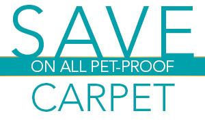 Pet Proof Carpet On Sale Now! Start Saving Today!
